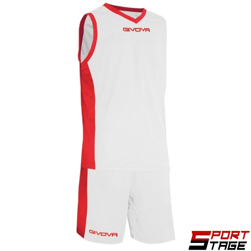 Детски Баскетболен Екип GIVOVA Kit Power 0312