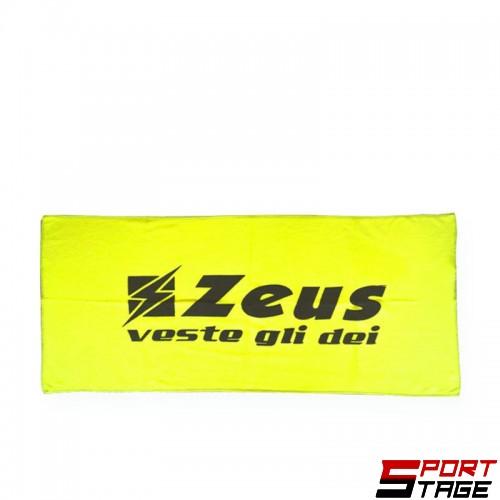 Кърпа ZEUS Telo Palestra Small 80 x 35 cm Giallo Fluo
