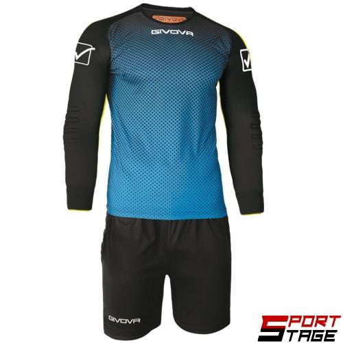 Детски Вратарски Екип GIVOVA Goalkeeper Kit Manchester 0510