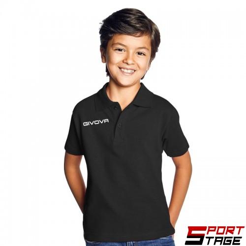 Детска Тениска GIVOVA Polo Summer 0010
