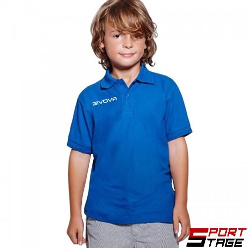 Детска Тениска GIVOVA Polo Summer 0002