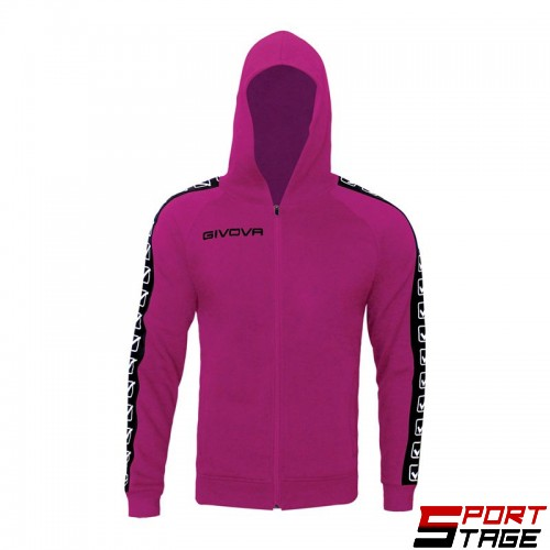 Детски Суичър GIVOVA Felpa Full Zip Band 0006