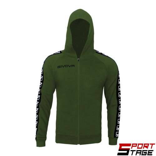 Детски Суичър GIVOVA Felpa Full Zip Band 0051