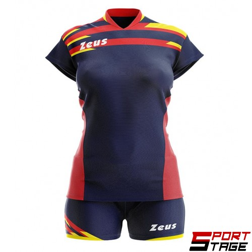 Детски Волейболен Екип ZEUS Kit Itaca Donna 010609