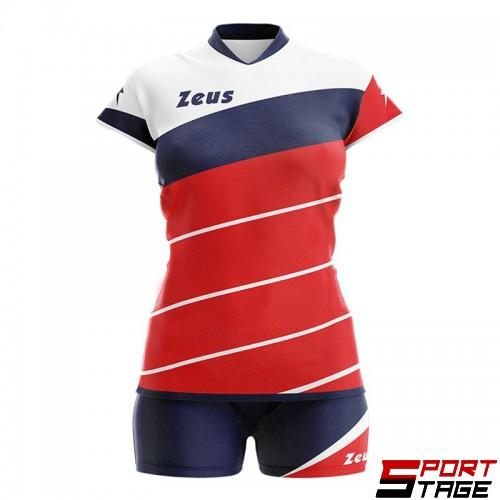 Детски Волейболен Екип ZEUS Kit Lybra Donna 060116