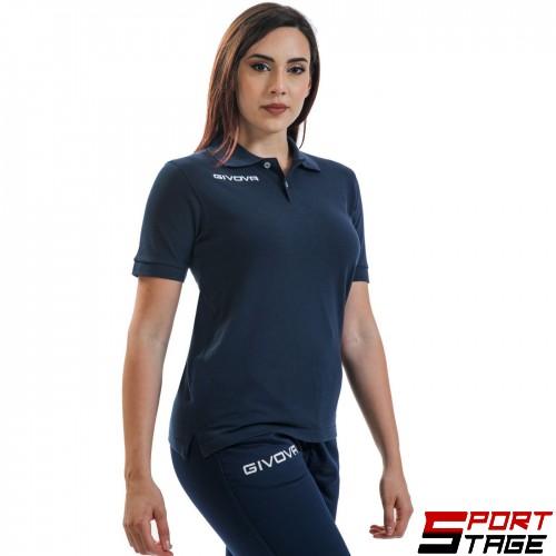 Дамска Тениска GIVOVA Polo Summer 0004