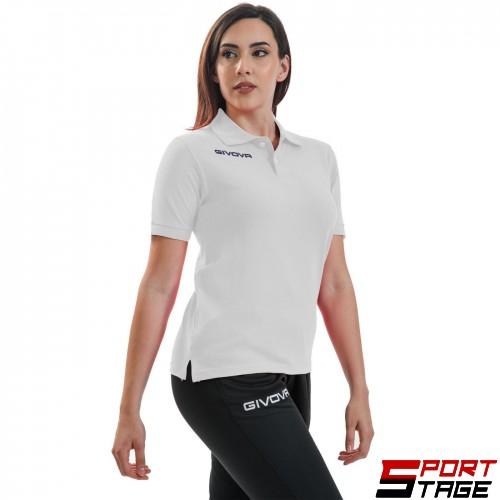Дамска Тениска GIVOVA Polo Summer 0003