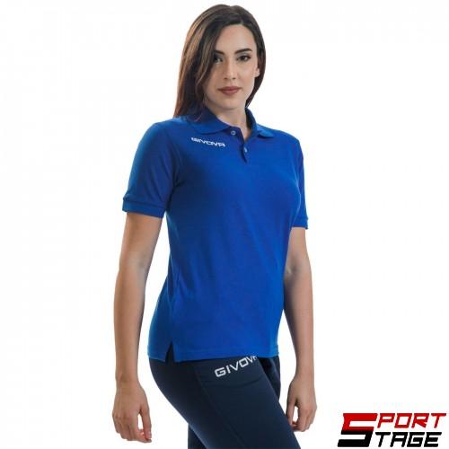 Дамска Тениска GIVOVA Polo Summer 0002