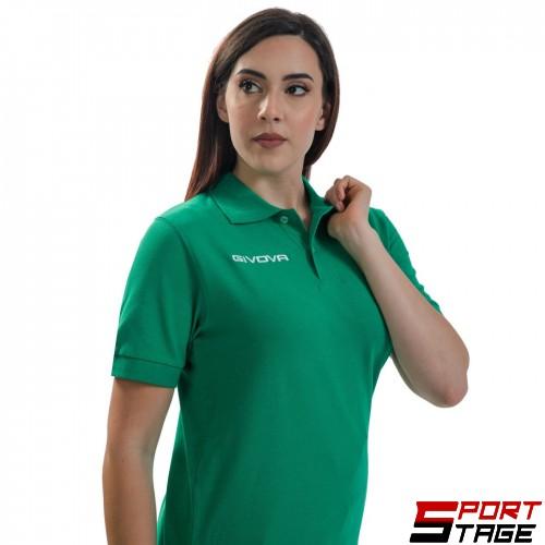 Дамска Тениска GIVOVA Polo Summer 0013