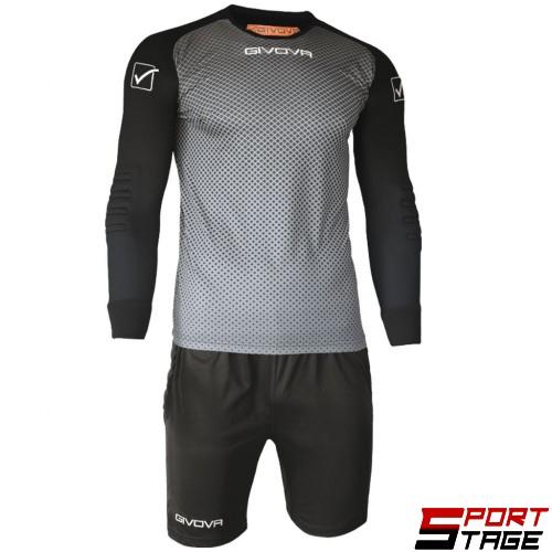 Детски Вратарски Екип GIVOVA Goalkeeper Kit Manchester 0910