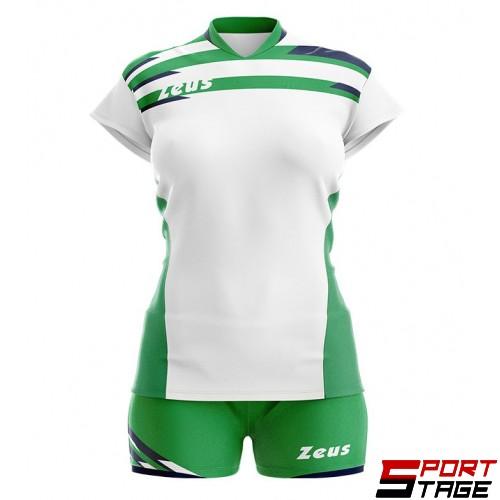Детски Волейболен Екип ZEUS Kit Itaca Donna 161101