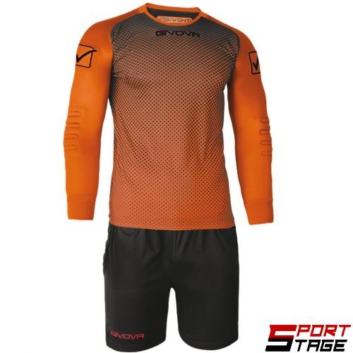 Детски Вратарски Екип GIVOVA Goalkeeper Kit Manchester 0110