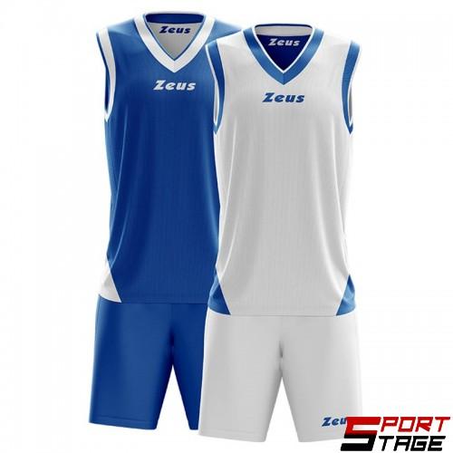 Детски Баскетболен Екип ZEUS Reversible Kit Doblo 1602