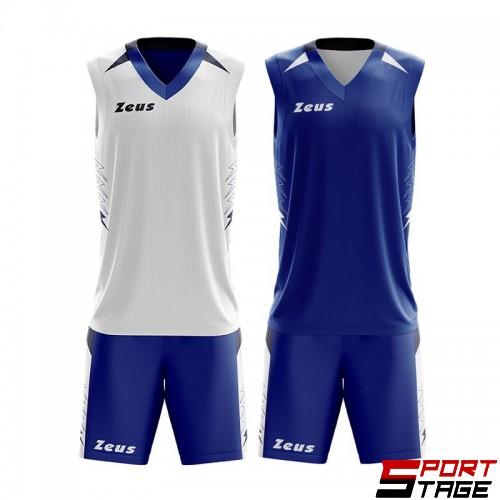 Детски Баскетболен Екип ZEUS Reversible Kit Jam