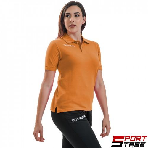 Дамска Тениска GIVOVA Polo Summer 0001