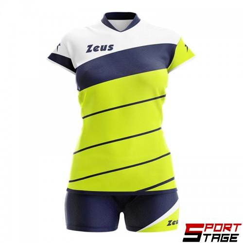 Детски Волейболен Екип ZEUS Kit Lybra Donna 170116