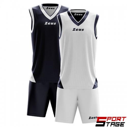 Детски Баскетболен Екип ZEUS Reversible Kit Doblo 1614