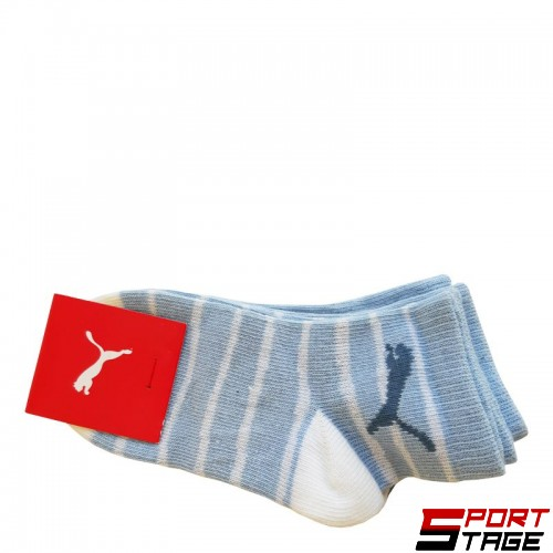 Бебешки Чорапи PUMA Socks 2 Pack Powder Blue