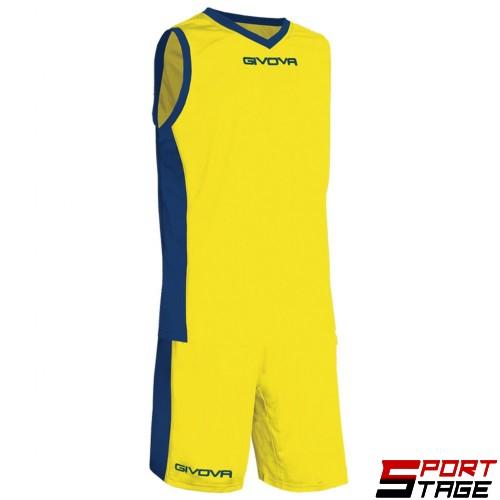 Детски Баскетболен Екип GIVOVA Kit Power 0704