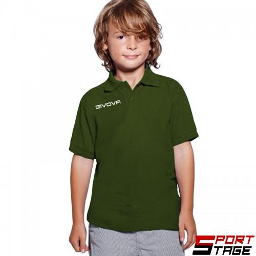 Детска Тениска GIVOVA Polo Summer 0051