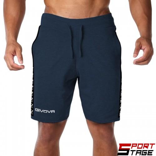Мъжки Къси Панталони GIVOVA Bermuda Terry Band 0004