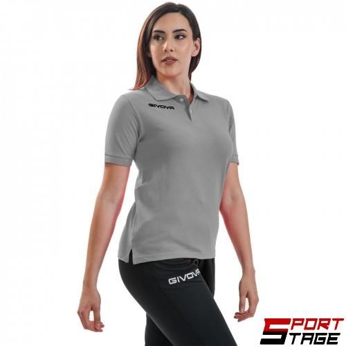 Дамска Тениска GIVOVA Polo Summer 0043