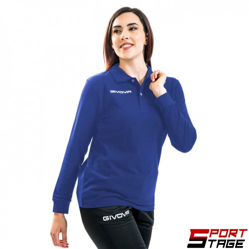 Дамска Блуза GIVOVA Polo Winter 0002
