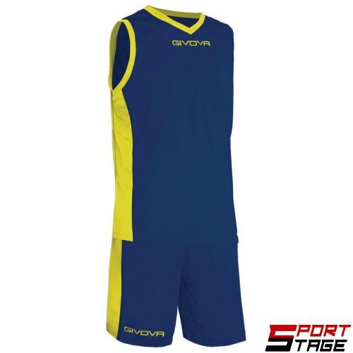 Детски Баскетболен Екип GIVOVA Kit Power 0407