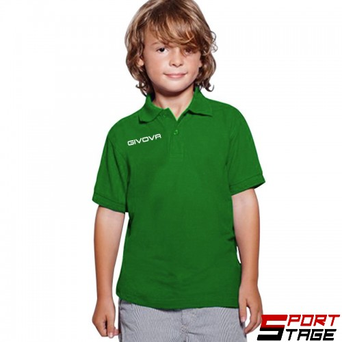 Детска Тениска GIVOVA Polo Summer 0013