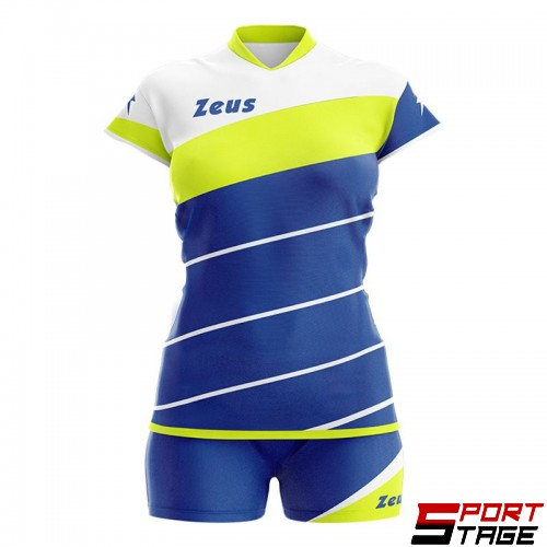 Детски Волейболен Екип ZEUS Kit Lybra Donna 261716