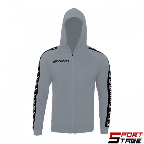 Детски Суичър GIVOVA Felpa Full Zip Band 0043