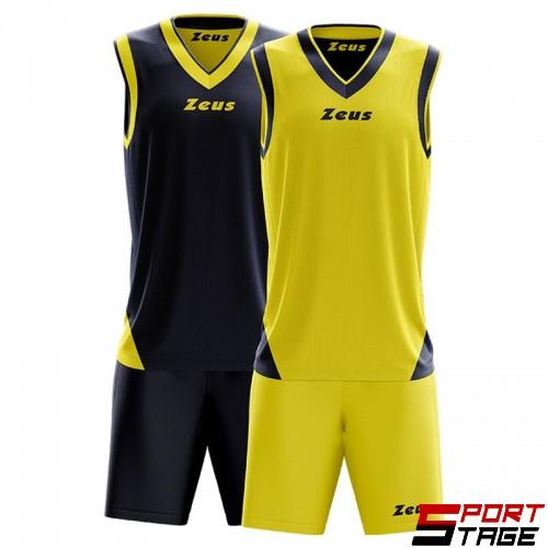 Детски Баскетболен Екип ZEUS Reversible Kit Doblo 0901