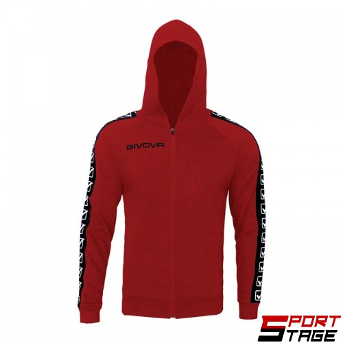 Детски Суичър GIVOVA Felpa Full Zip Band 0012