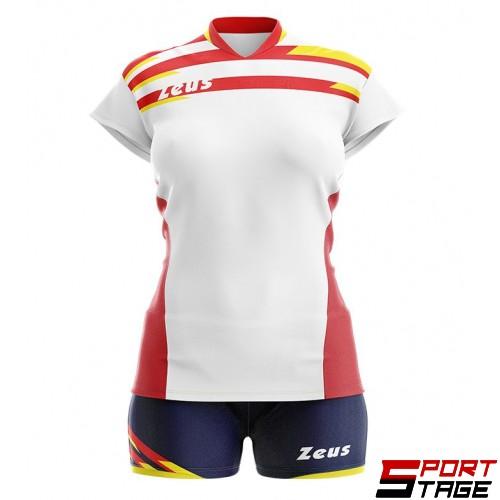 Детски Волейболен Екип ZEUS Kit Itaca Donna 16060901