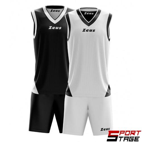 Детски Баскетболен Екип ZEUS Reversible Kit Doblo 1601