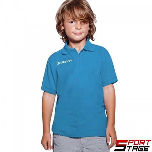 Детска Тениска GIVOVA Polo Summer 0024