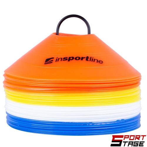 Пластмасови тренировъчни чинийки inSPORTline B40 5 см