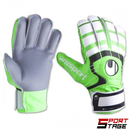 Вратарски ръкавици Uhlsport Cerberus Starter Graphit