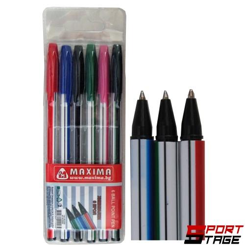 Химикалки комплект 6 броя