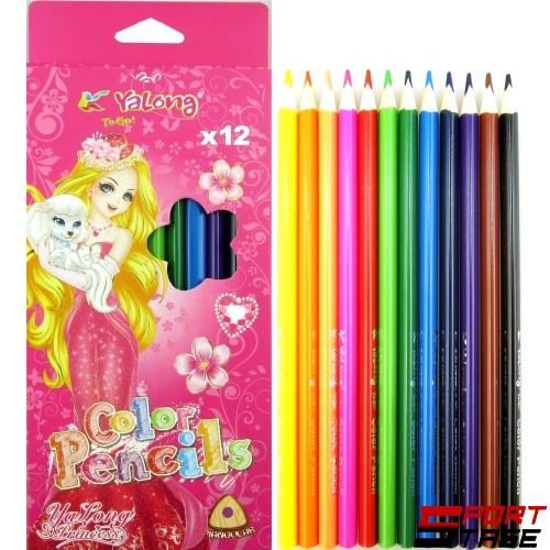 Цветни моливи 12 цвята
