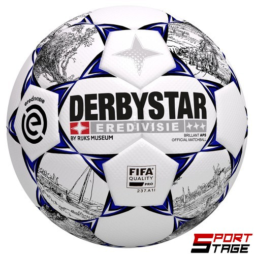 Футболна топка DERBYSTAR BRILLANT APS EREDEVISIE