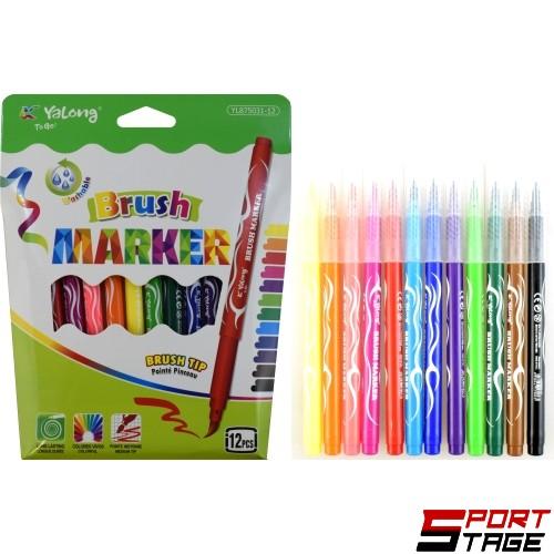 Маркери за рисуване 12 цвята