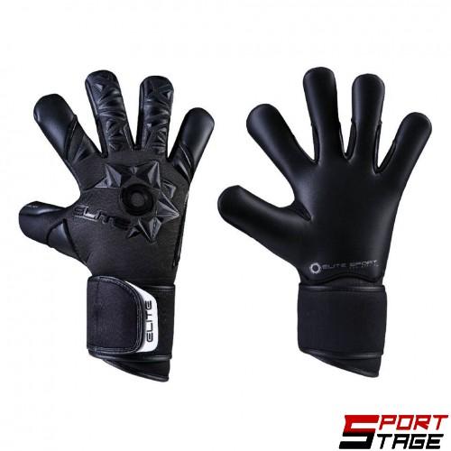 Вратарски ръкавици ELITE NEO BLACK