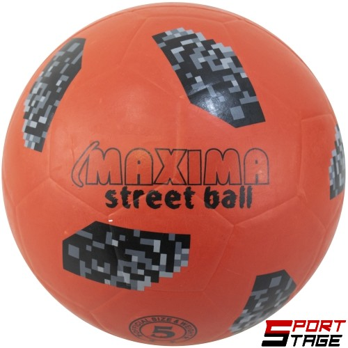 Топка футбол №5 гумена MAXIMA street