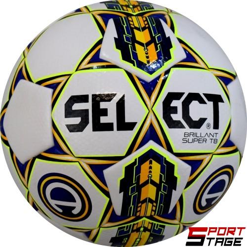Топка футбол №5 SELECT Brillant Super TB Allsvenskan