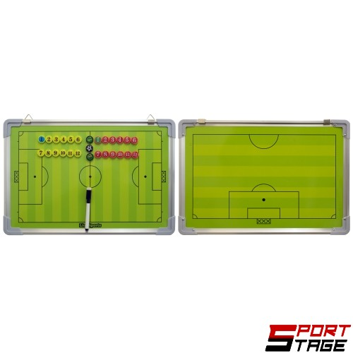 Тактическа треньорска дъска за футбол, 46х30 см