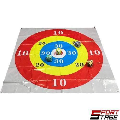 Игра за хвърляне в цел с четири топки