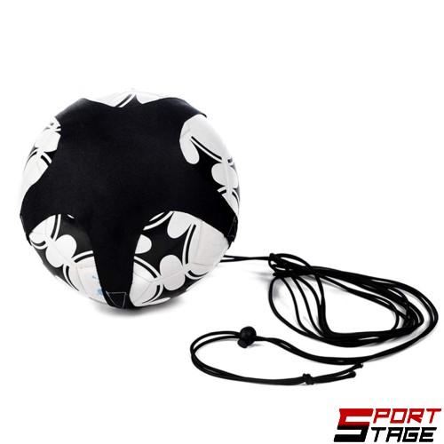 Комплект ластик с колан за самостоятелна тренировка по футбол MAXIMA