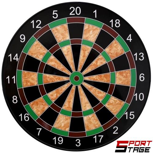 Дартс магнитен 14.5 инча (37см) комплект с 6 стрели