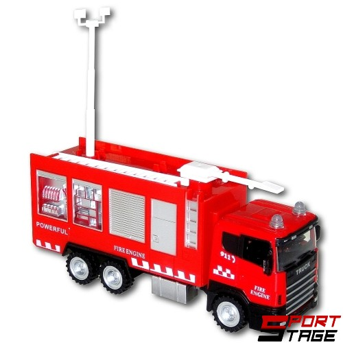 Камион пожарна метален 1:43